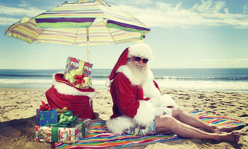 santa's on holiday