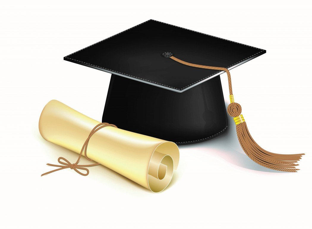 graduation_cap_and_diploma_vector
