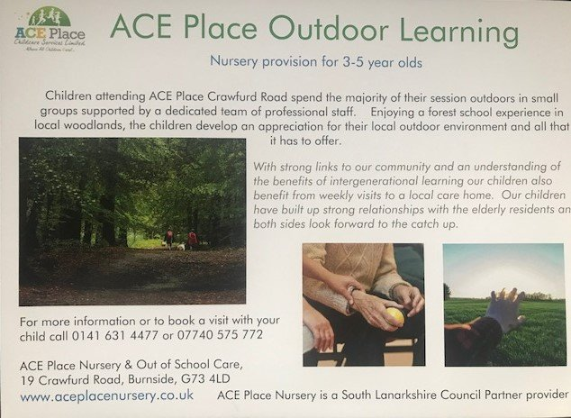 Outdoor Learning flyer