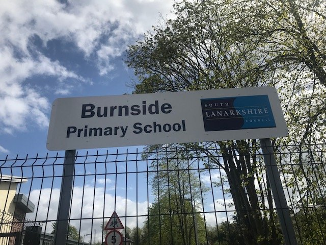 Burnside Primary SChool sign