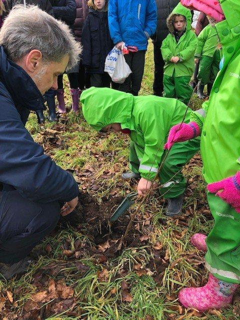 Cathkin Braes Tree Planting 6