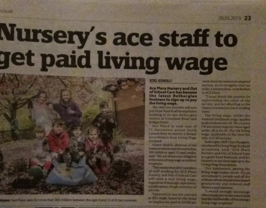 ACE Living Wage