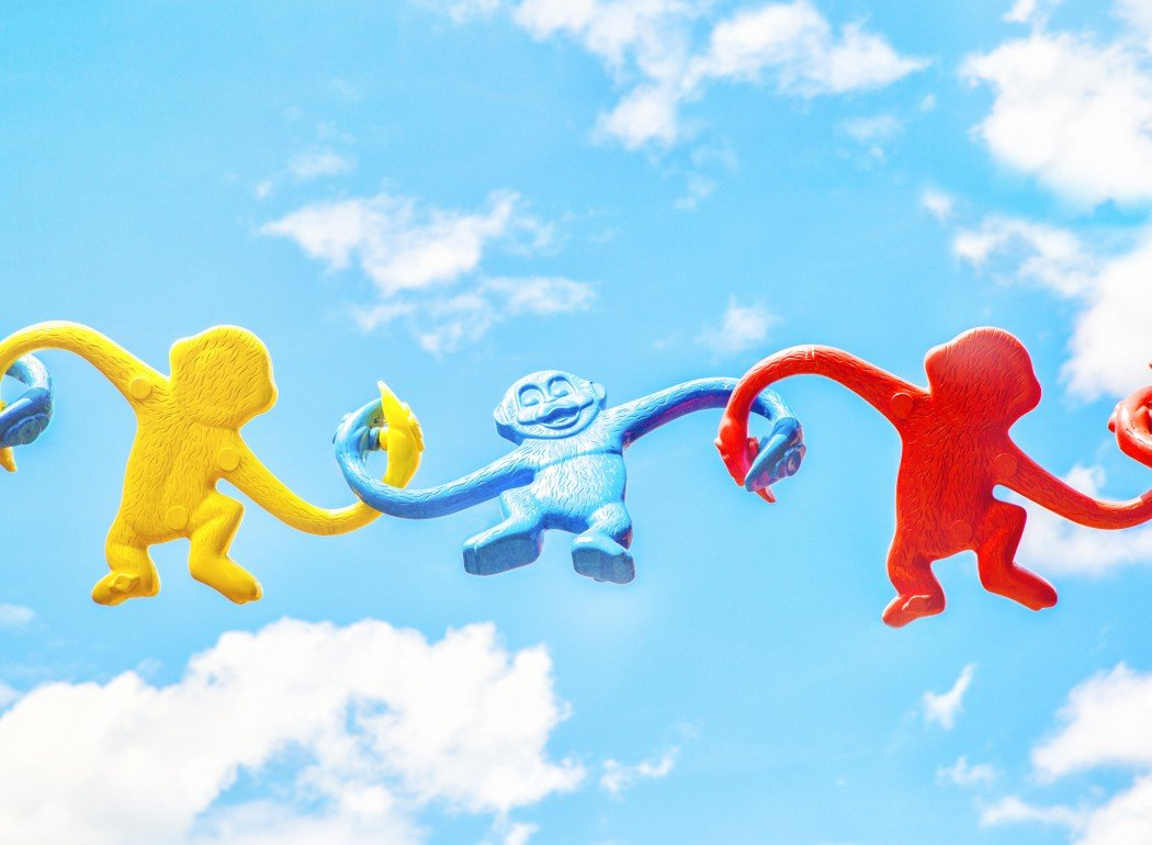Blue sky monkeys