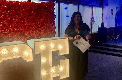 Megan Award Pic
