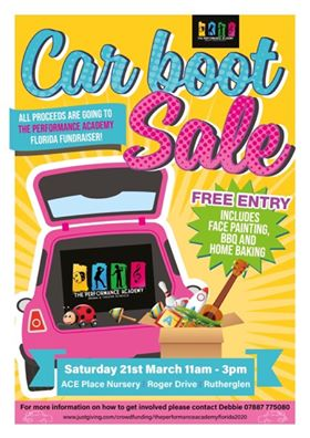 Car Boot Sale Flyer